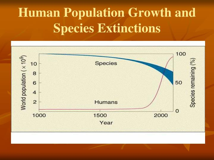 Human Population Growth and Species Extinctions
