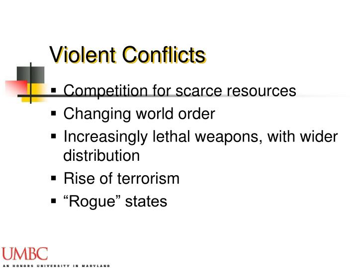 Violent Conflicts