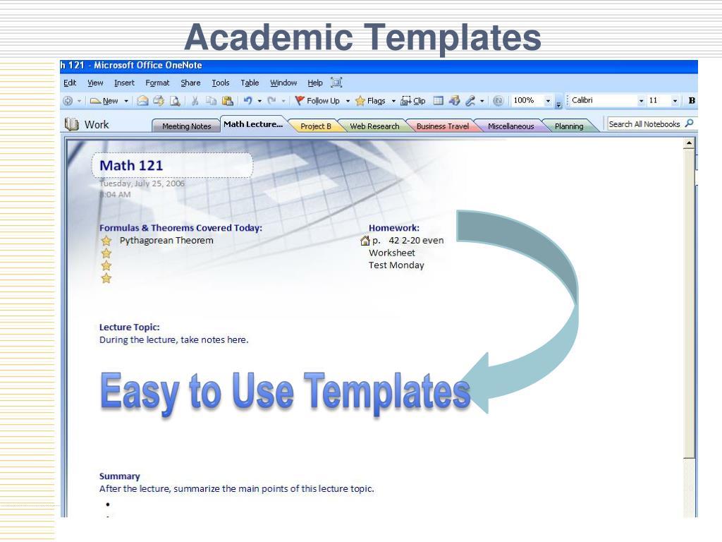Academic Templates