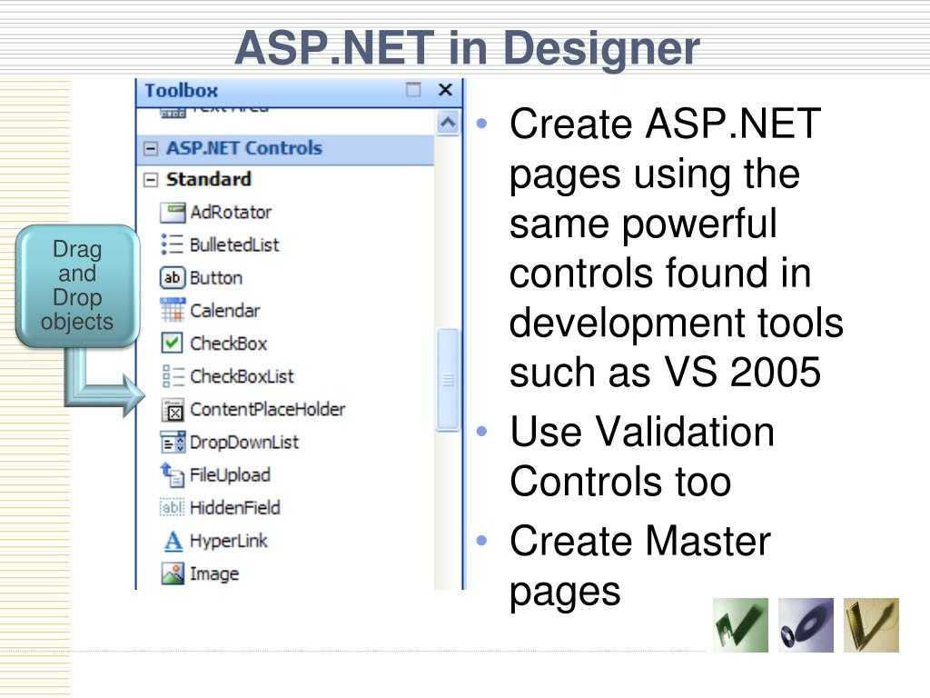 ASP.NET in Designer