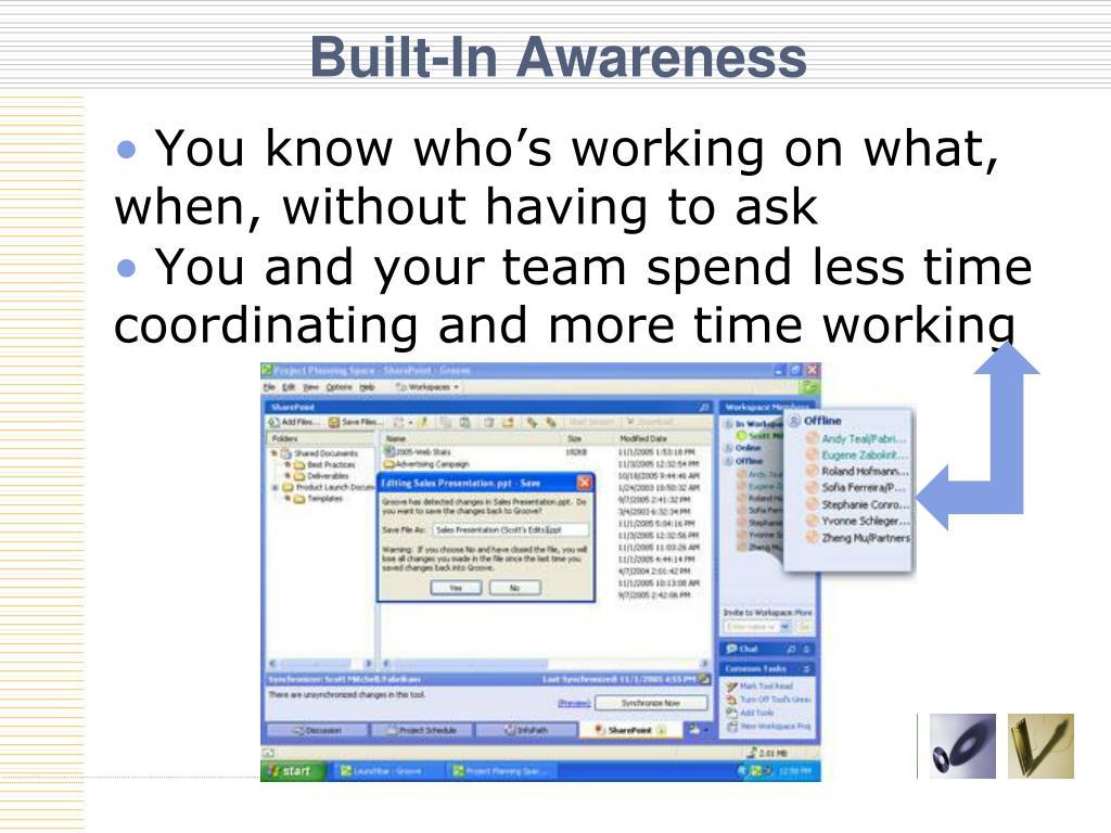 Built-In Awareness