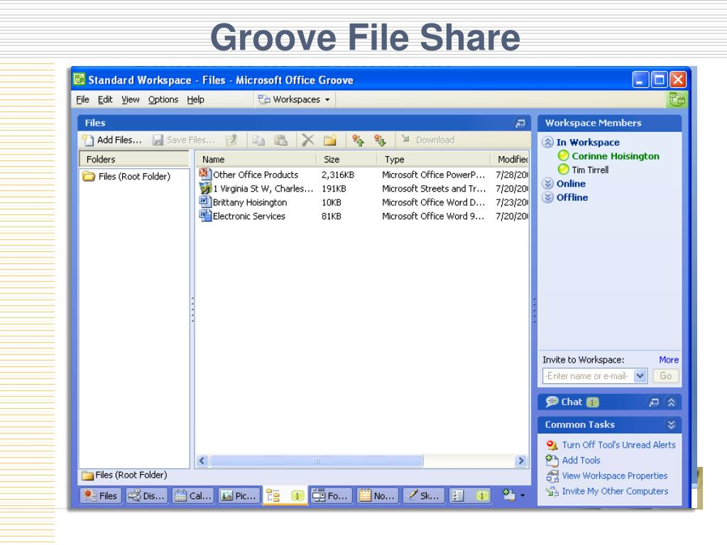 Groove File Share