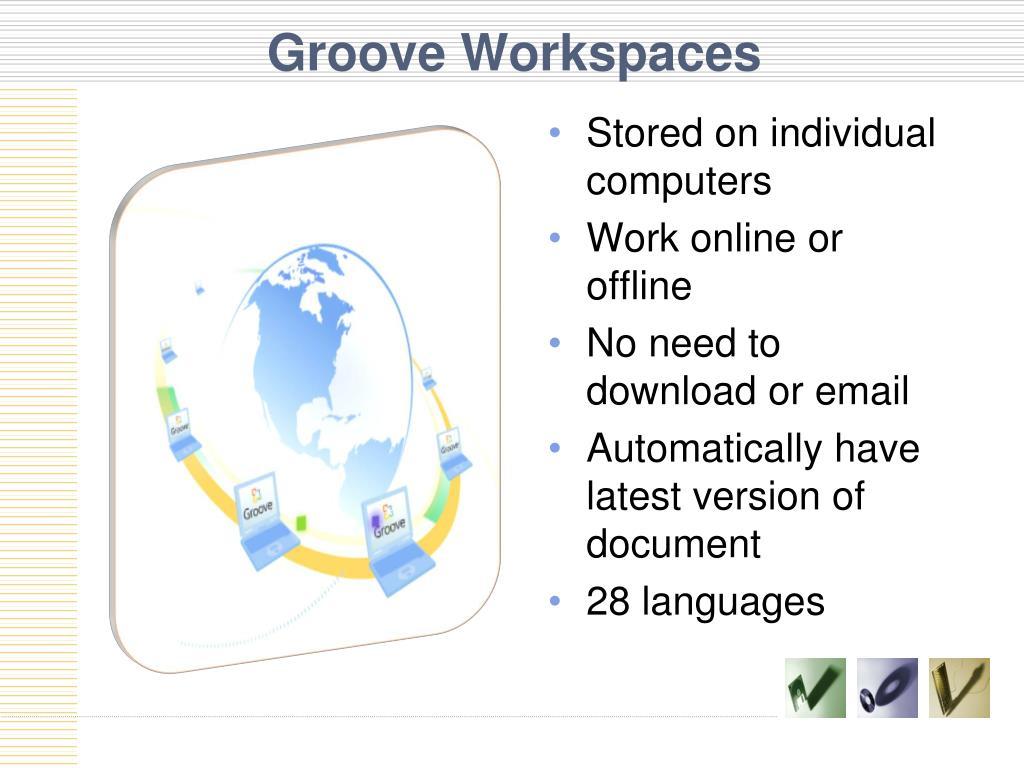 Groove Workspaces