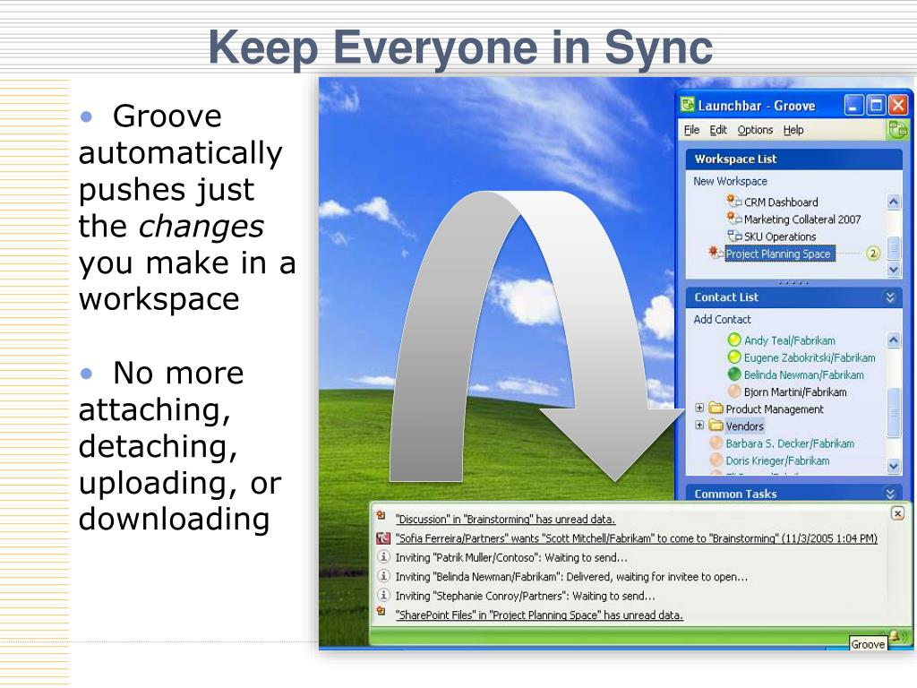 Keep Everyone in Sync