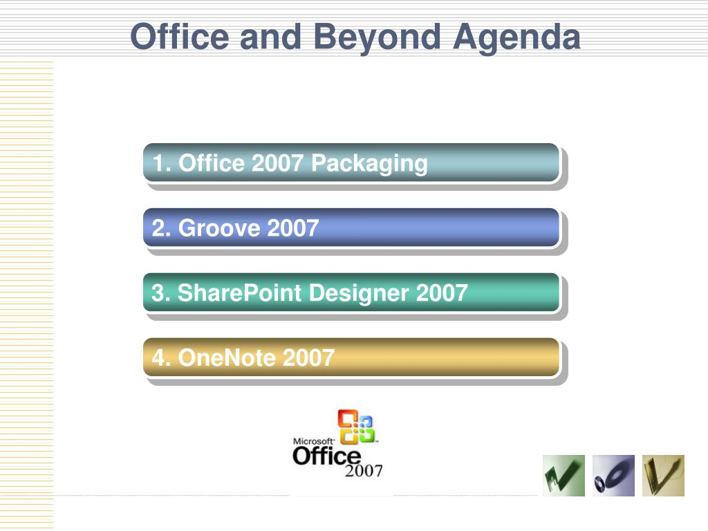 Office and Beyond Agenda