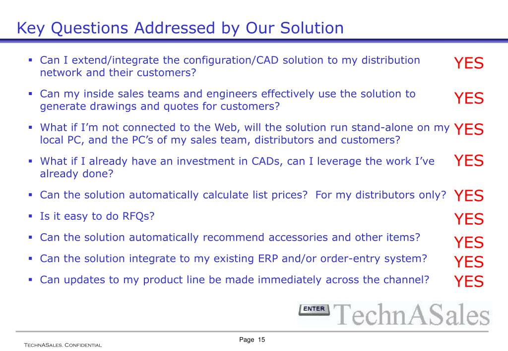 Key Questions Addressed by Our Solution