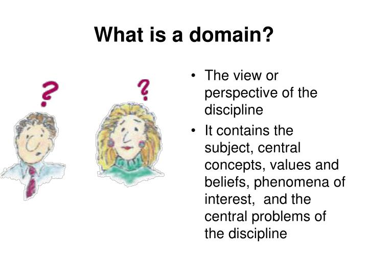 What is a domain?