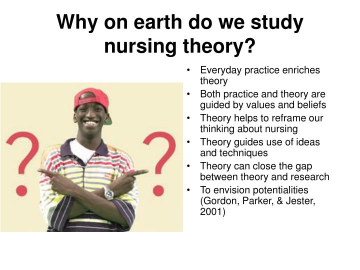 Why on earth do we study nursing theory?