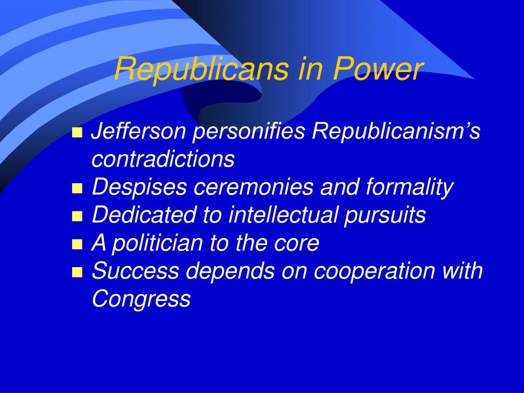 Republicans in Power