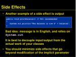 side effects1