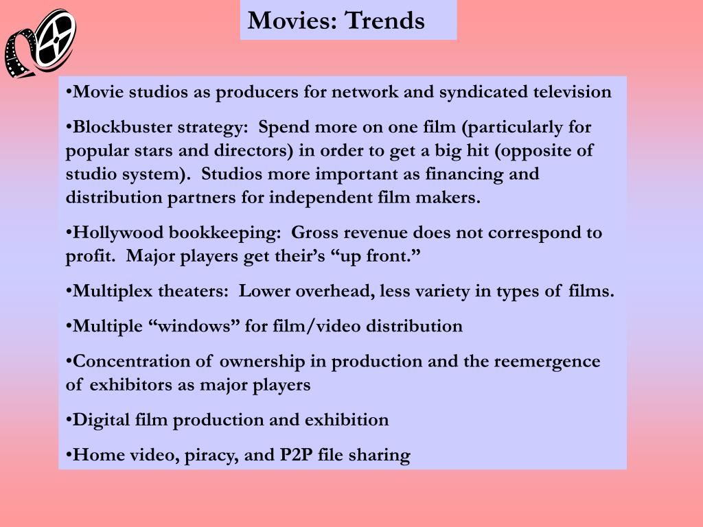 Movies: Trends