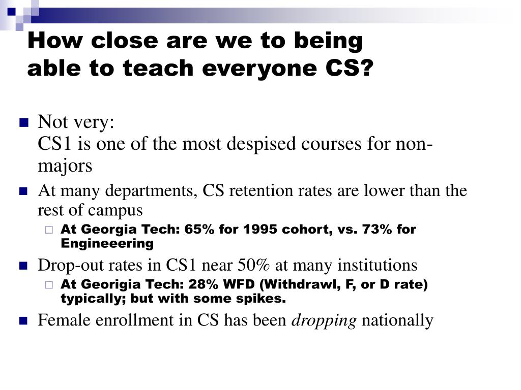 How close are we to being able to teach everyone CS?