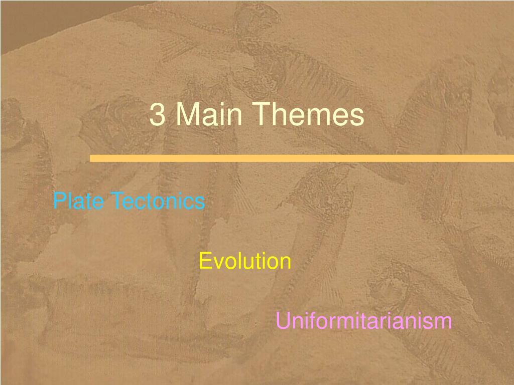 3 Main Themes