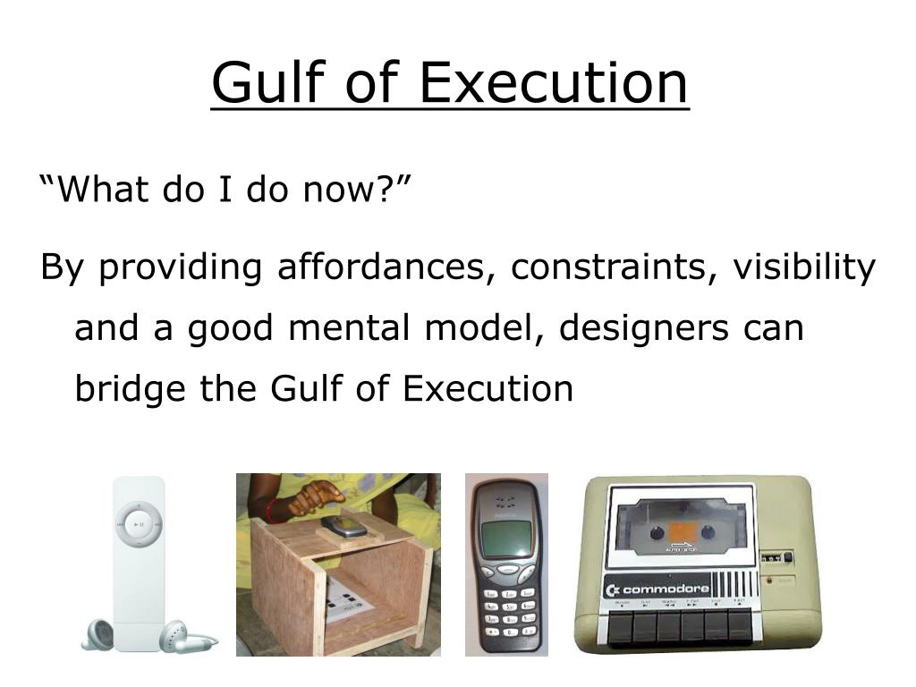 Gulf of Execution