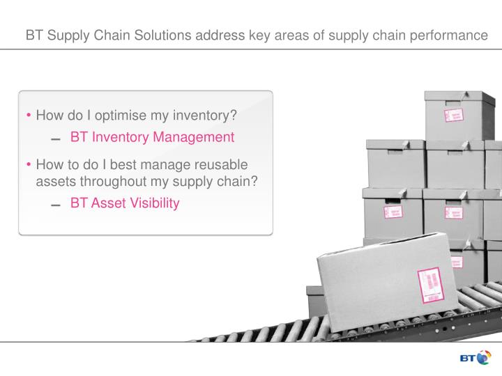 BT Supply Chain Solutions address