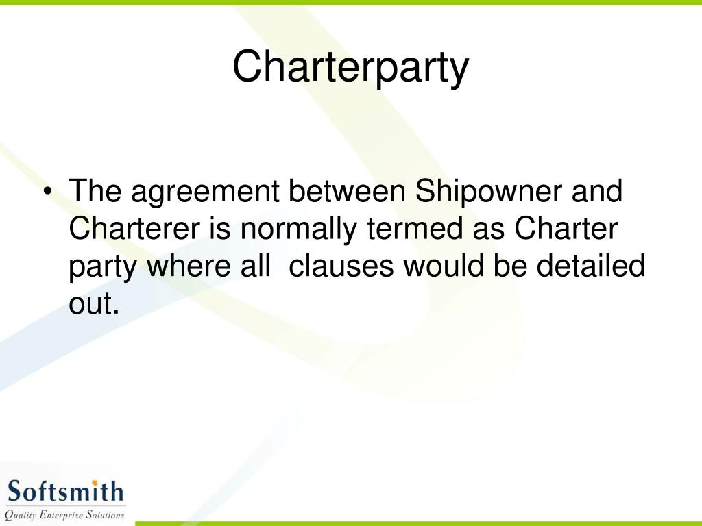 Charterparty