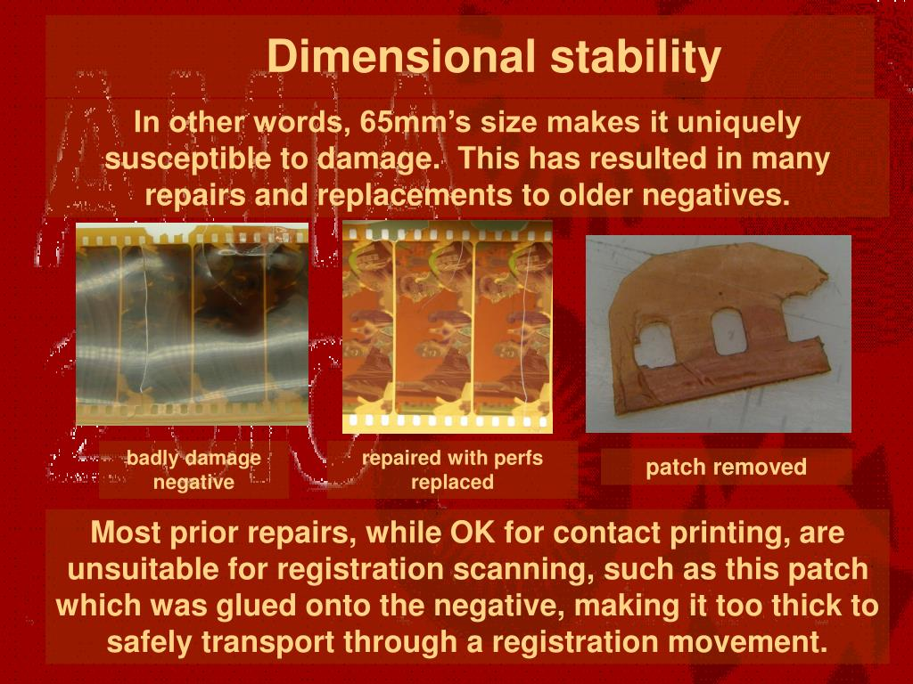 Dimensional stability