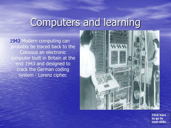 Computers and learning3