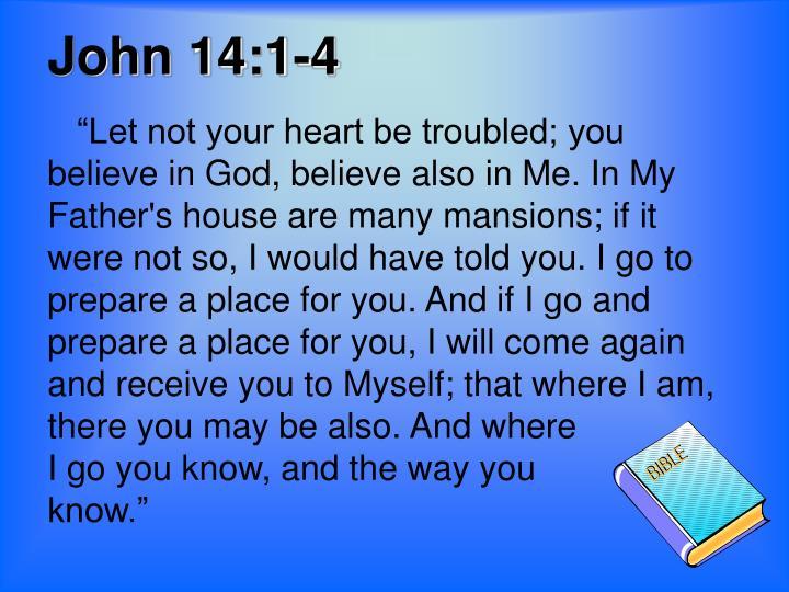 John 14:1-4
