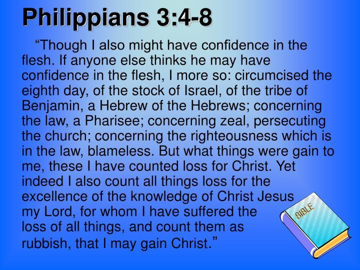 Philippians 3:4-8