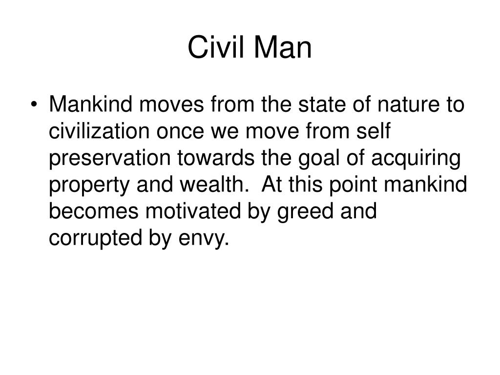 Civil Man