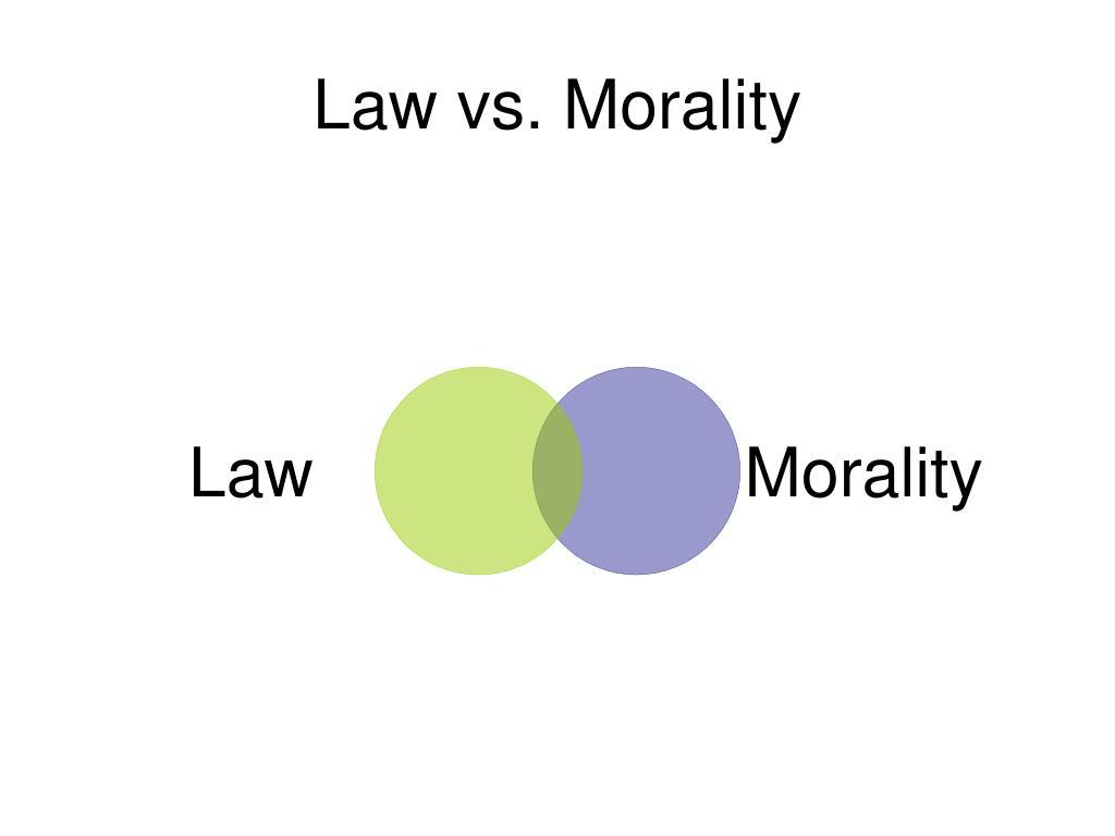 Law vs. Morality