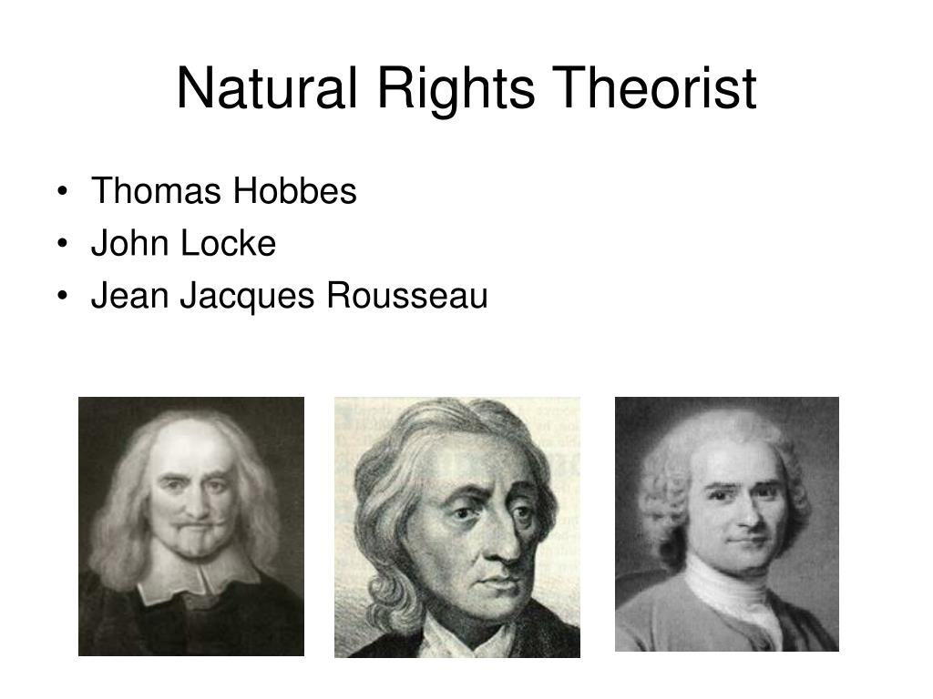 Natural Rights Theorist