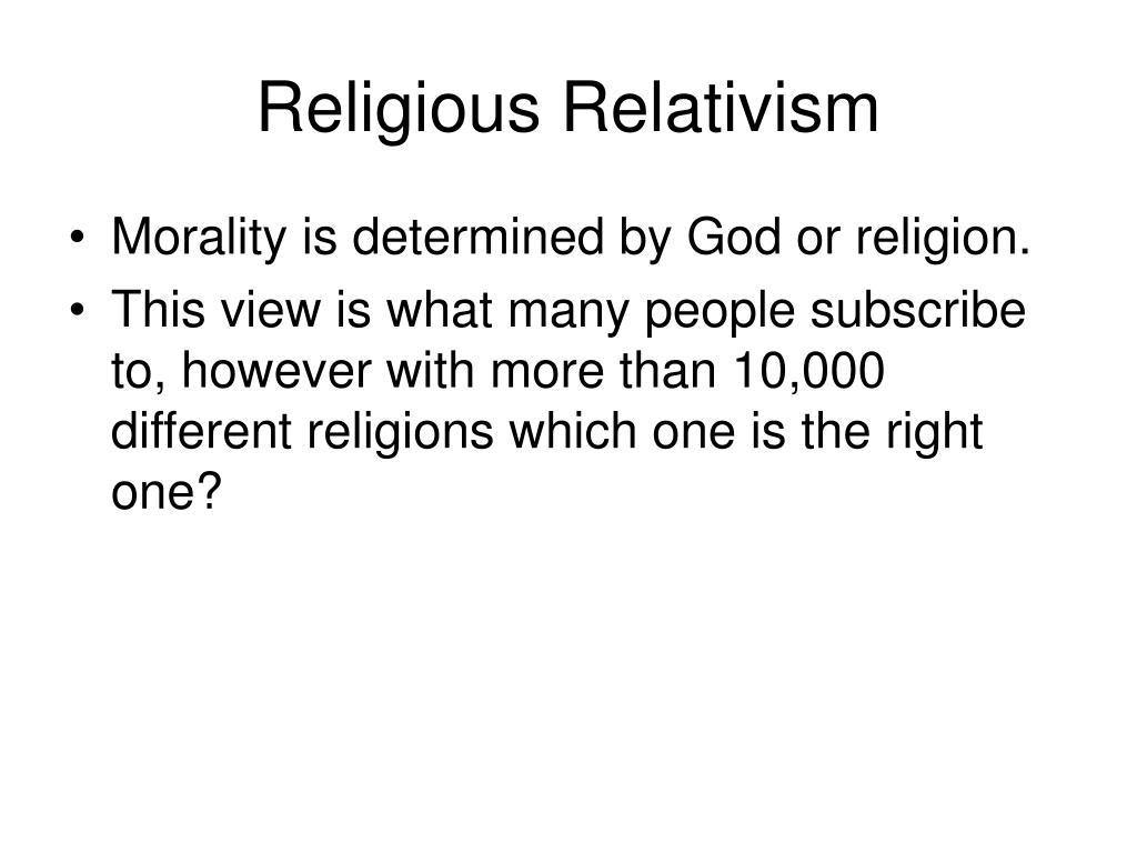 Religious Relativism