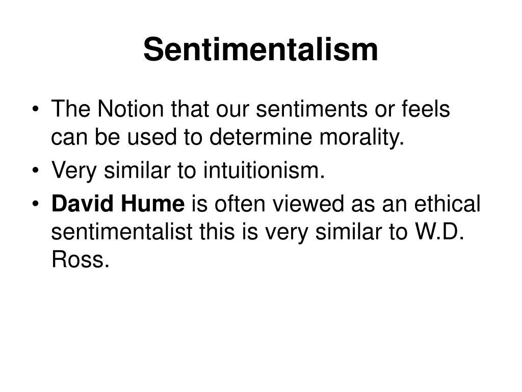 Sentimentalism