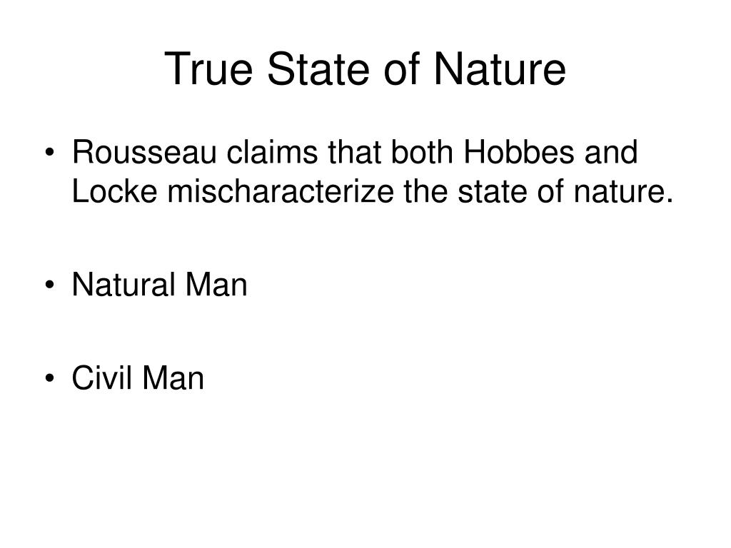 True State of Nature