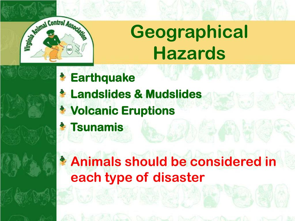 Geographical Hazards