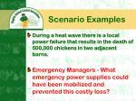 scenario examples11