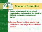 scenario examples12