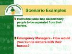scenario examples9