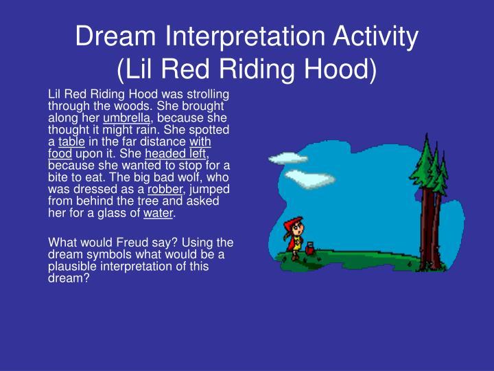 Dream Interpretation Activity