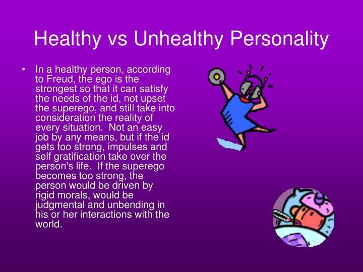 Healthy vs Unhealthy Personality
