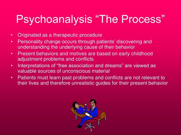 """Psychoanalysis """"The Process"""""""