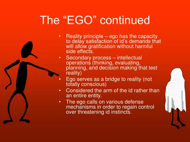 """The """"EGO"""" continued"""