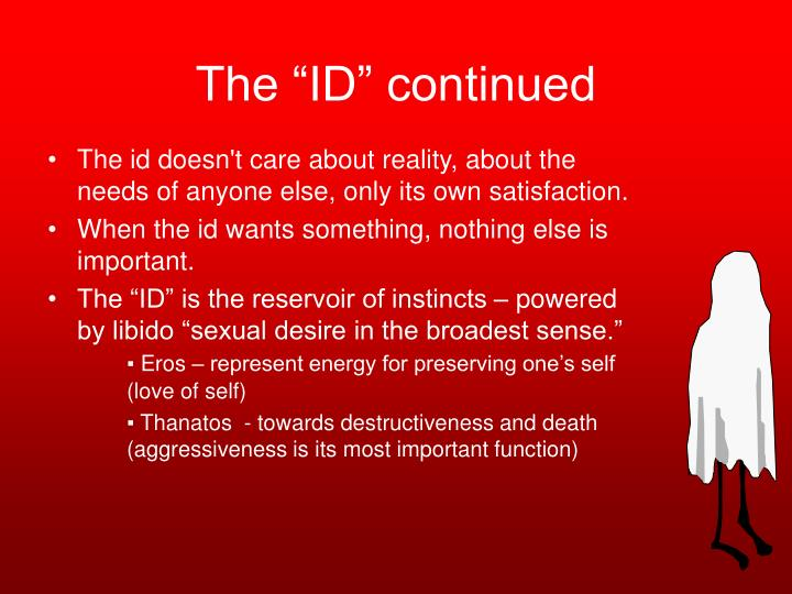 """The """"ID"""" continued"""