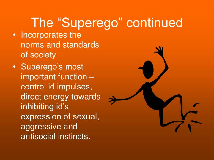 """The """"Superego"""" continued"""