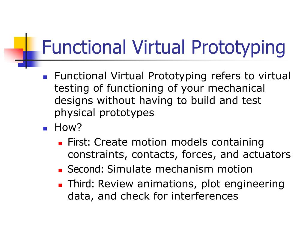 Functional Virtual Prototyping