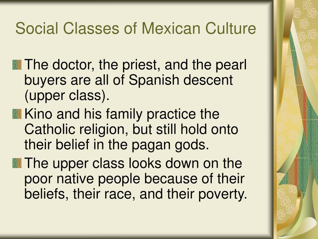 Social Classes of Mexican Culture