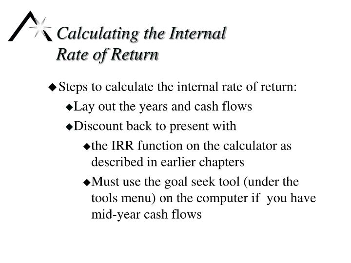 Calculating the Internal
