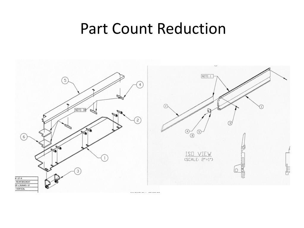 Part Count Reduction