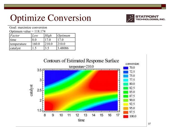 Optimize Conversion