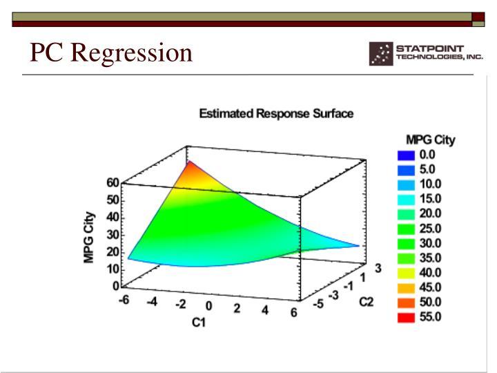 PC Regression