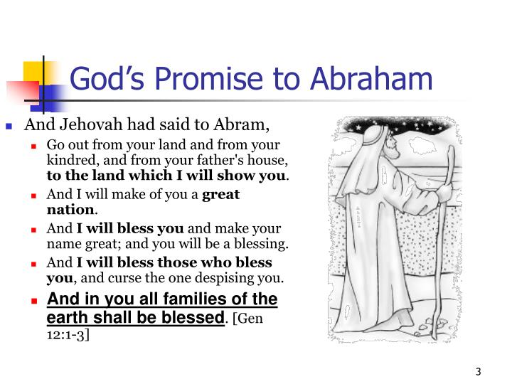 God s promise to abraham