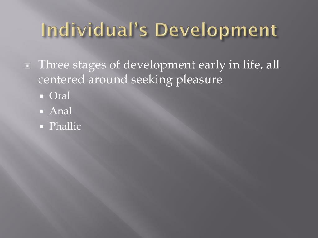 Individual's Development