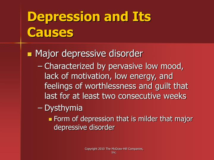 Depression and Its Causes