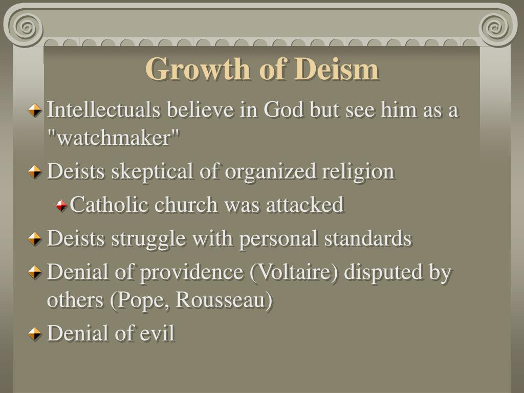 Growth of Deism